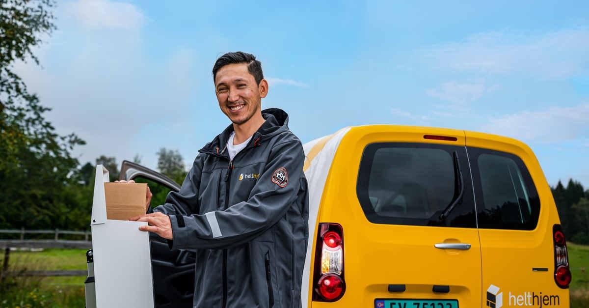 Helthem leverer hjem til dormatte og postkasse 100kb