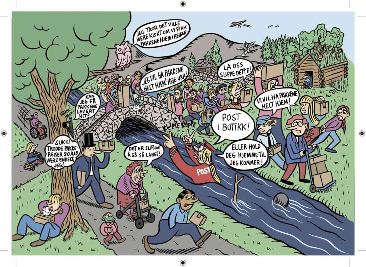 NETTHANDEL: Vi må kreve mer. Illustrasjon: Sindre Goksøyr/Helthjem