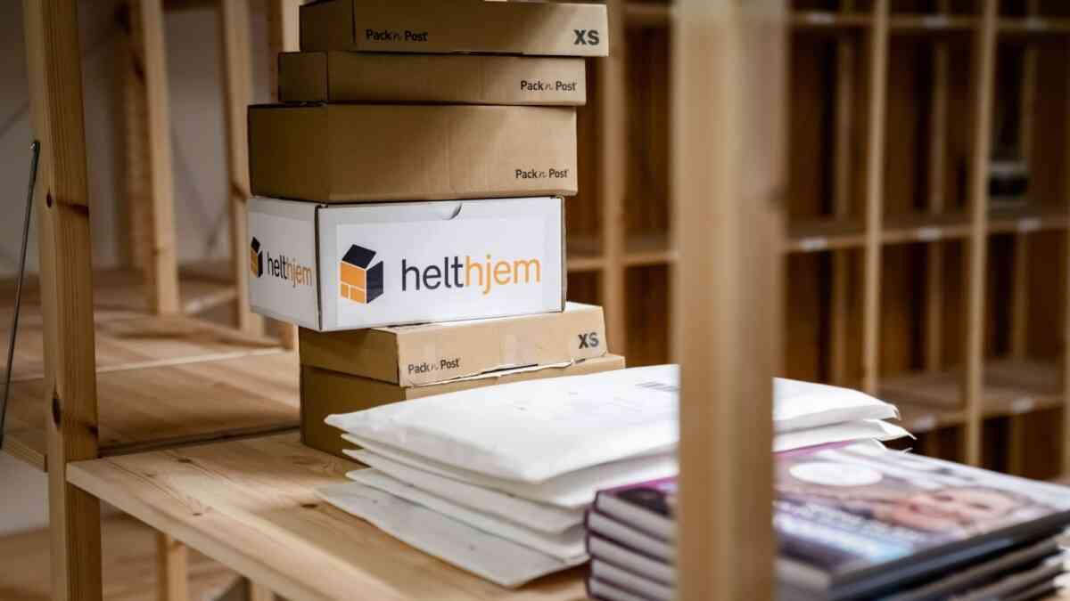 PAKKER: Helthjem utvider butikknettverket. Foto: Helthjem