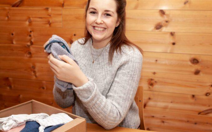 PÅSKEEGG: Gjør som Kristin å send et påskeegg fra hjem til hjem. Foto: Schibsted Partnerstudio