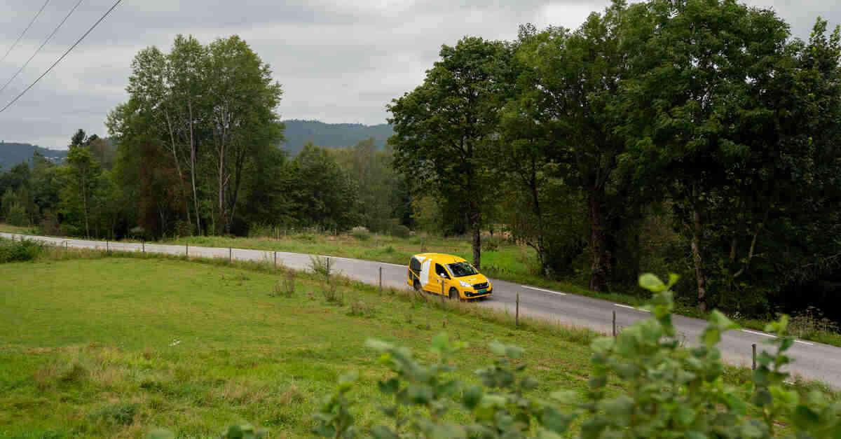 LEVERING: Enkel levering øker gjenbruket. Foto: Helthjem