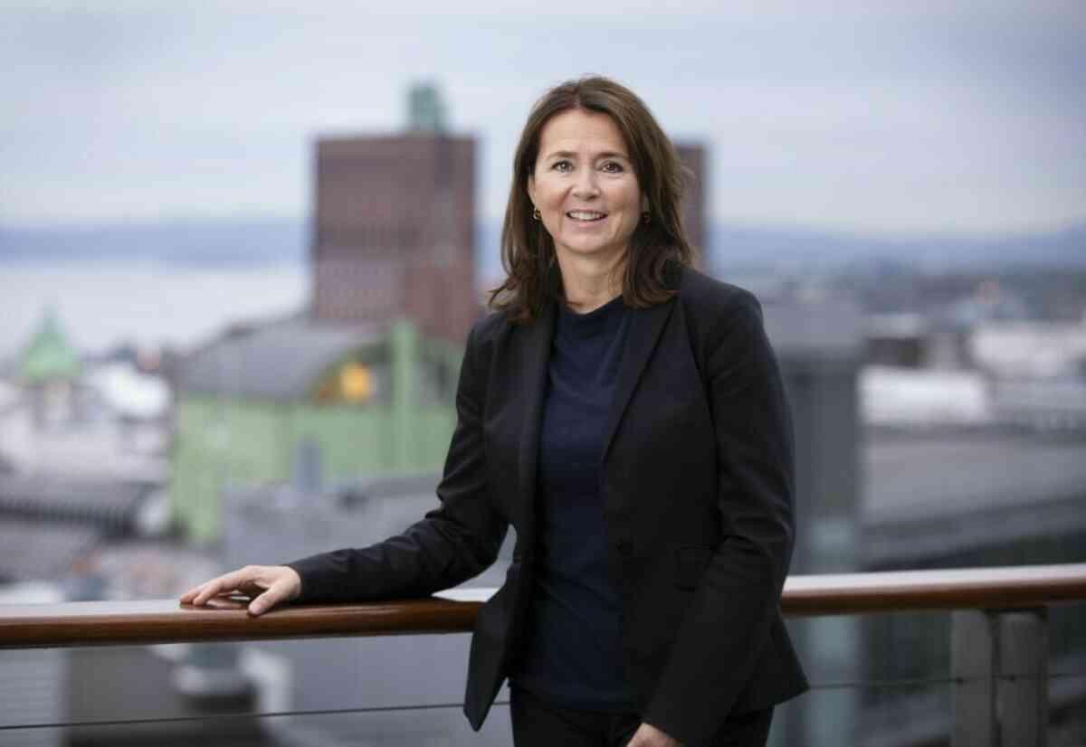 ENORM VEKST: Cathrine Laksfoss, administrerende direktør i Schibsted Distribusjon, er svært fornøyd med resultatet for 2020. Foto: Ingar Sørensen